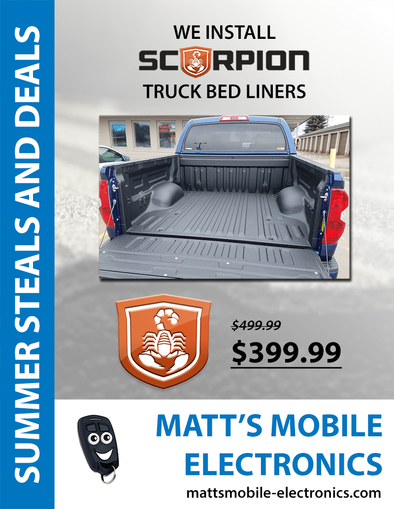 summer specials, matt's mobile electronics